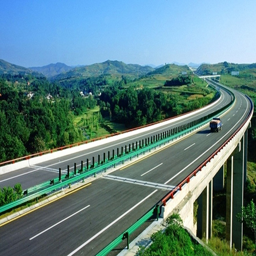 贵州高速公路喷塑护栏