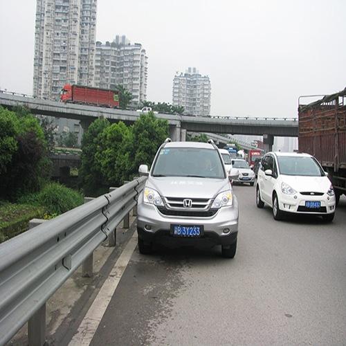 贵州高速路三波波形护栏