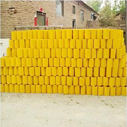 贵州喷塑黄色护栏防阻块